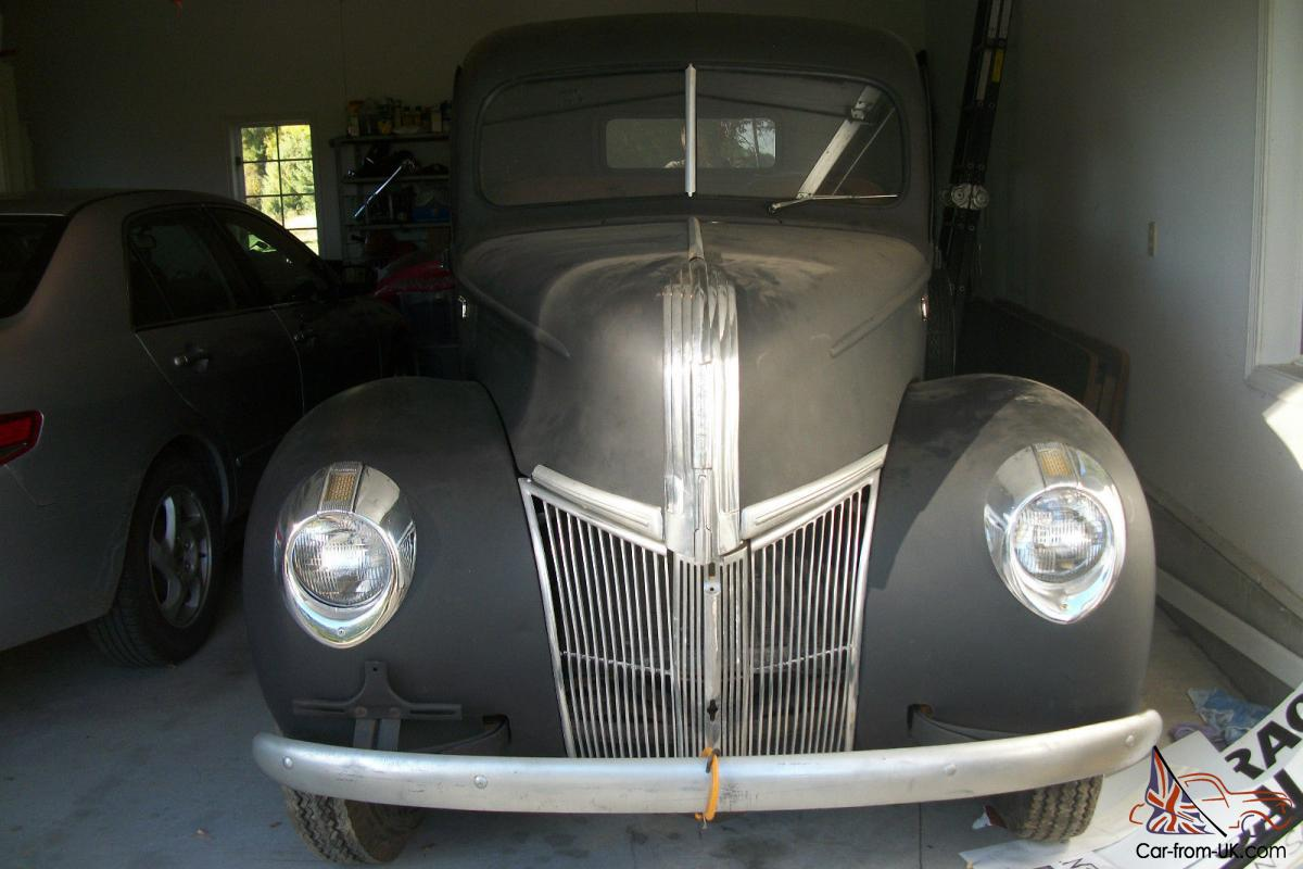 1941 Ford Pickup Barn Find Street Rod Project Truck Hot