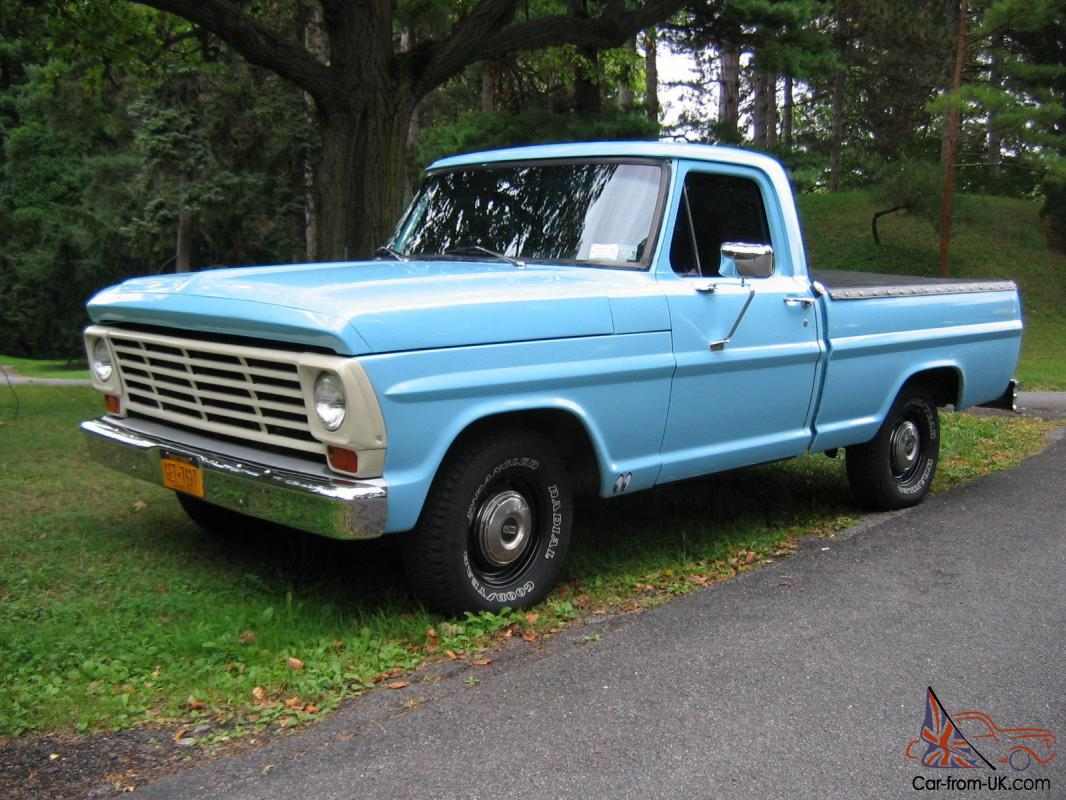 1967 Ford Pick Up Short Bed F100