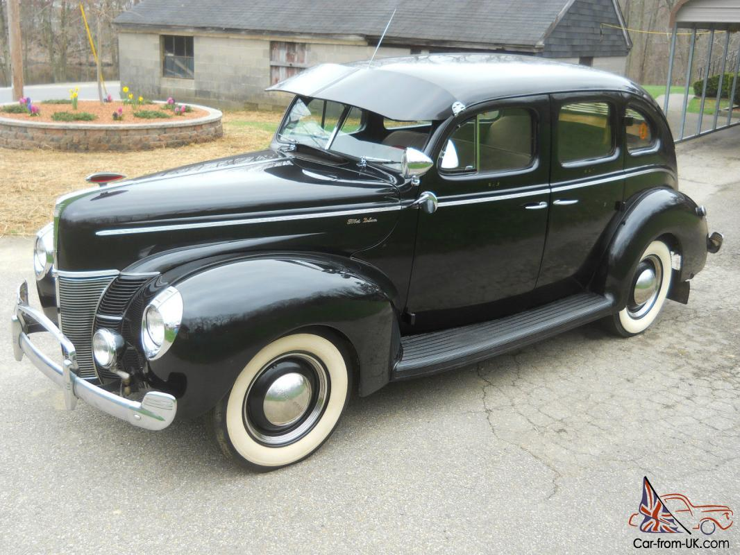 1940 ford deluxe sedan has been in storage since 1955. Black Bedroom Furniture Sets. Home Design Ideas