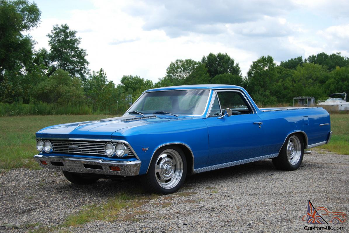 1966 Chevrolet El Camino For Sale In Nice California: 1966 CHEVY EL CAMINO ABSOLUTELY FLAWLESS FRAME OFF RESTO