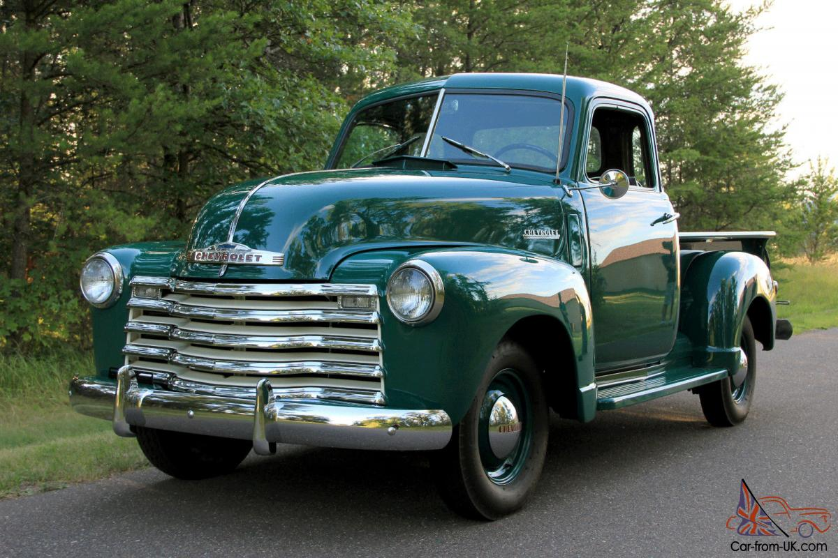 1950 5 window chevy 3100 1 2 ton pickup. Black Bedroom Furniture Sets. Home Design Ideas