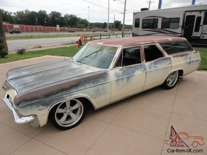 Impala California Patina Station Wagon 327 Lowered PS PB Power windows