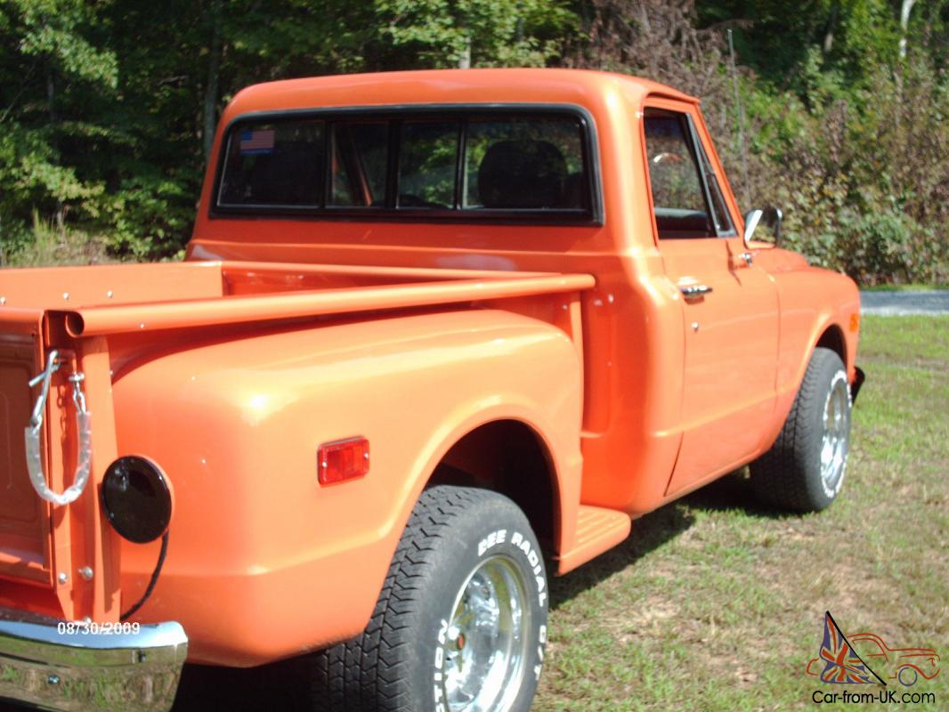 1968 Chevy C10 Stepside Pickup Truck