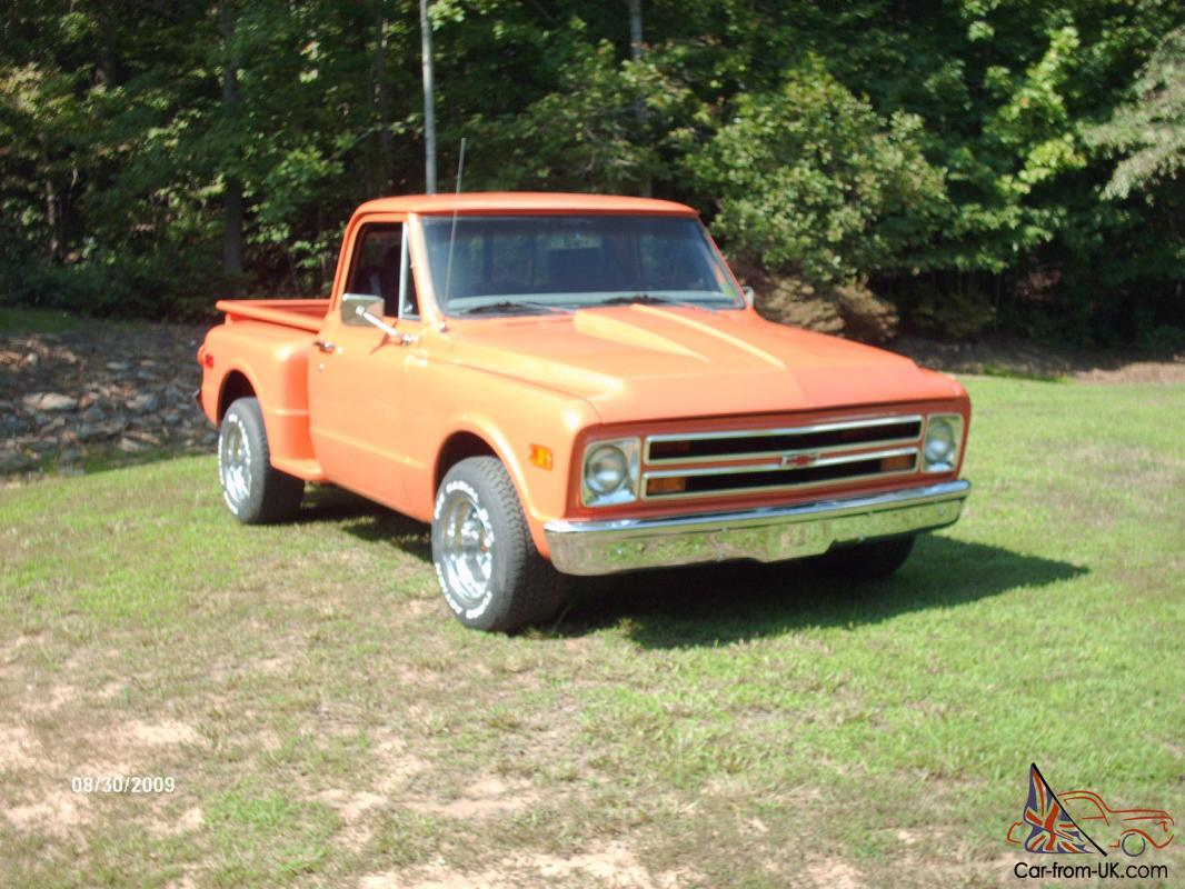 1968 chevy c10 stepside pickup