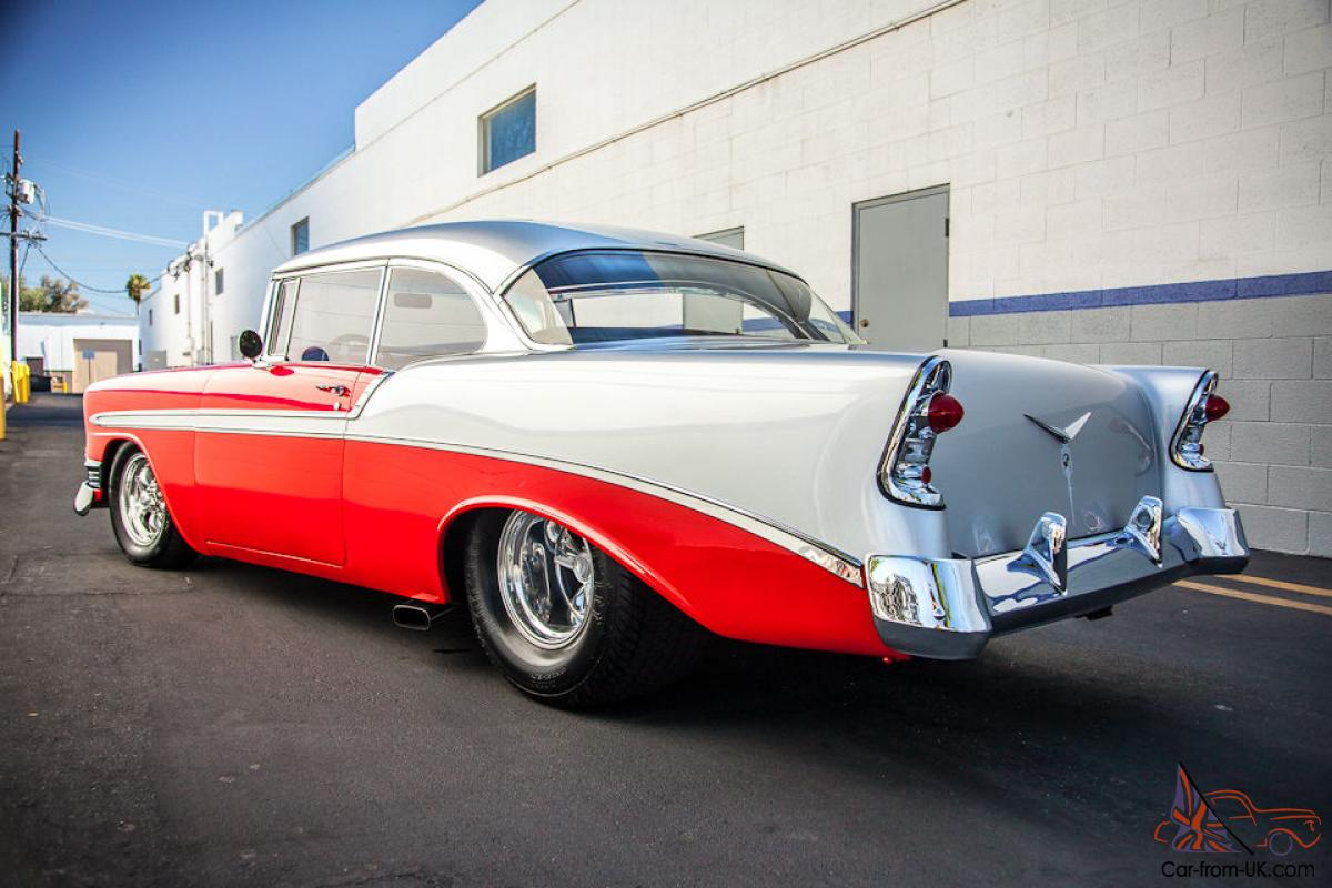 1956 chevrolet bel air for sale on classiccars com 74 - 1956 Chevy Chevrolet Bel Air Pro Touring 55 56 57 2 Door Hardtop True Show Car
