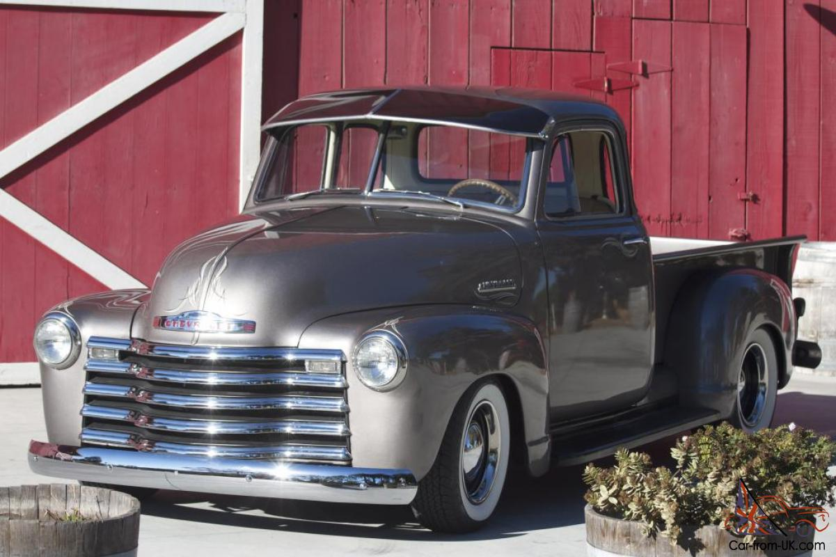 1952 chevrolet truck 3100 5 window chevy hot rod 383 with for 1952 5 window chevy pickup for sale