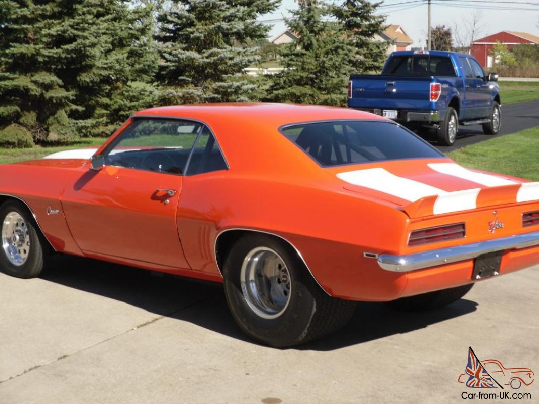 1969 Z28 Prostreet Camaro For Sale By Owner Autos Post