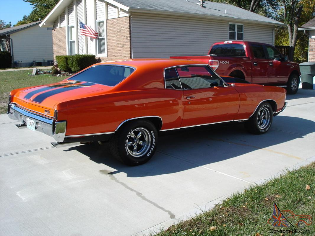 1970 Chevrolet Monte Carlo Ss 454 Chevy Many Extras No Reserve