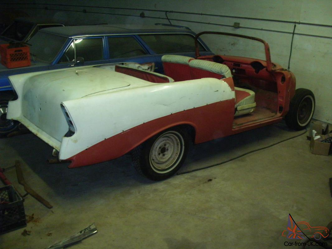 1956 chevrolet bel air convertible for sale - 1956 Chevrolet Convertible 55 57 Hot Rod Rat Rod Project Car