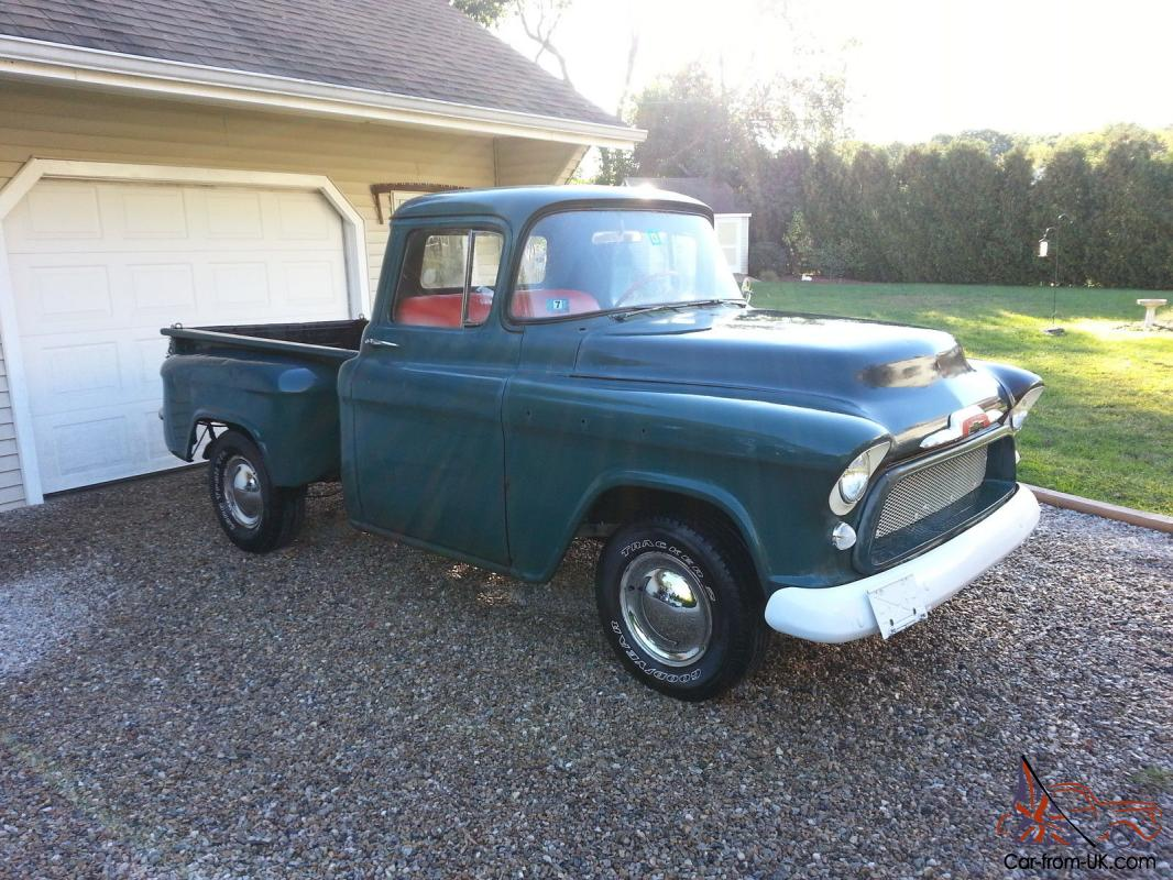 1956 chevy pickup 1955 hot rod pro street project. Black Bedroom Furniture Sets. Home Design Ideas