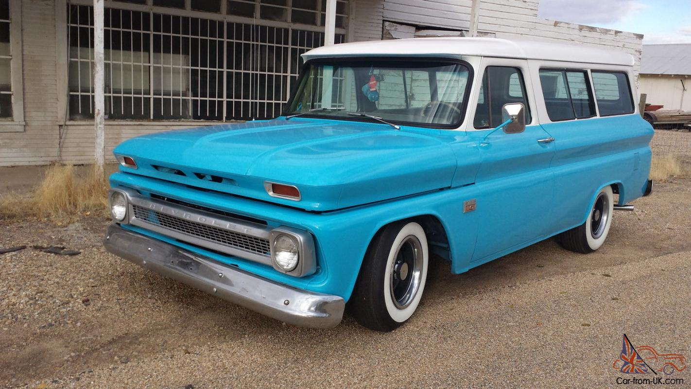 1966 Chevy Suburban Carry All Chevrolet 1965 1964 64 65 66 Hot Rod Truck Paint Colors Rat Pickup