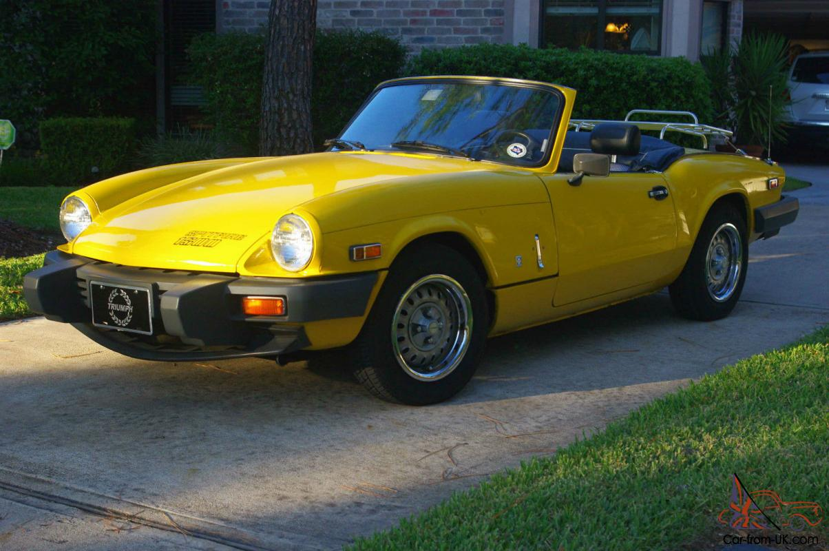 Outstanding Triumph Spitfire 1500