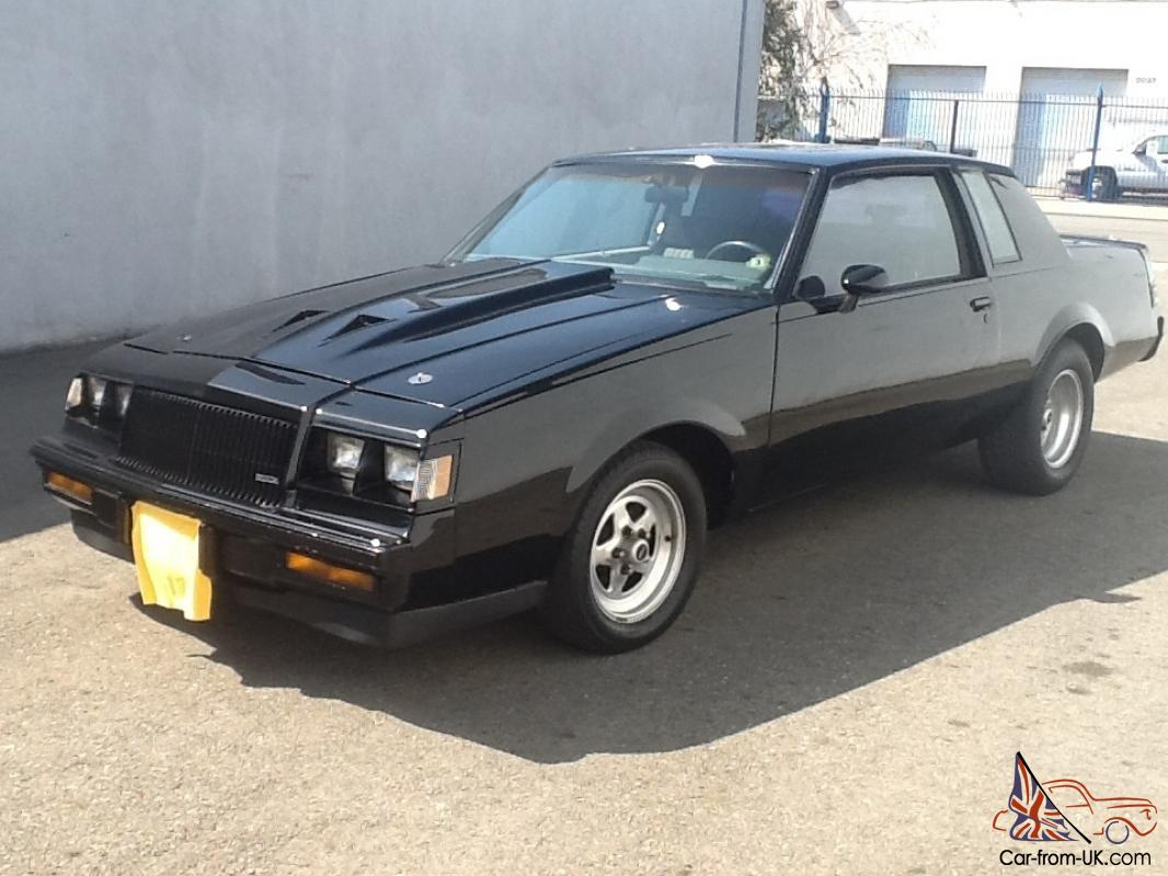1987 buick regal grand national t type with moon roof. Black Bedroom Furniture Sets. Home Design Ideas