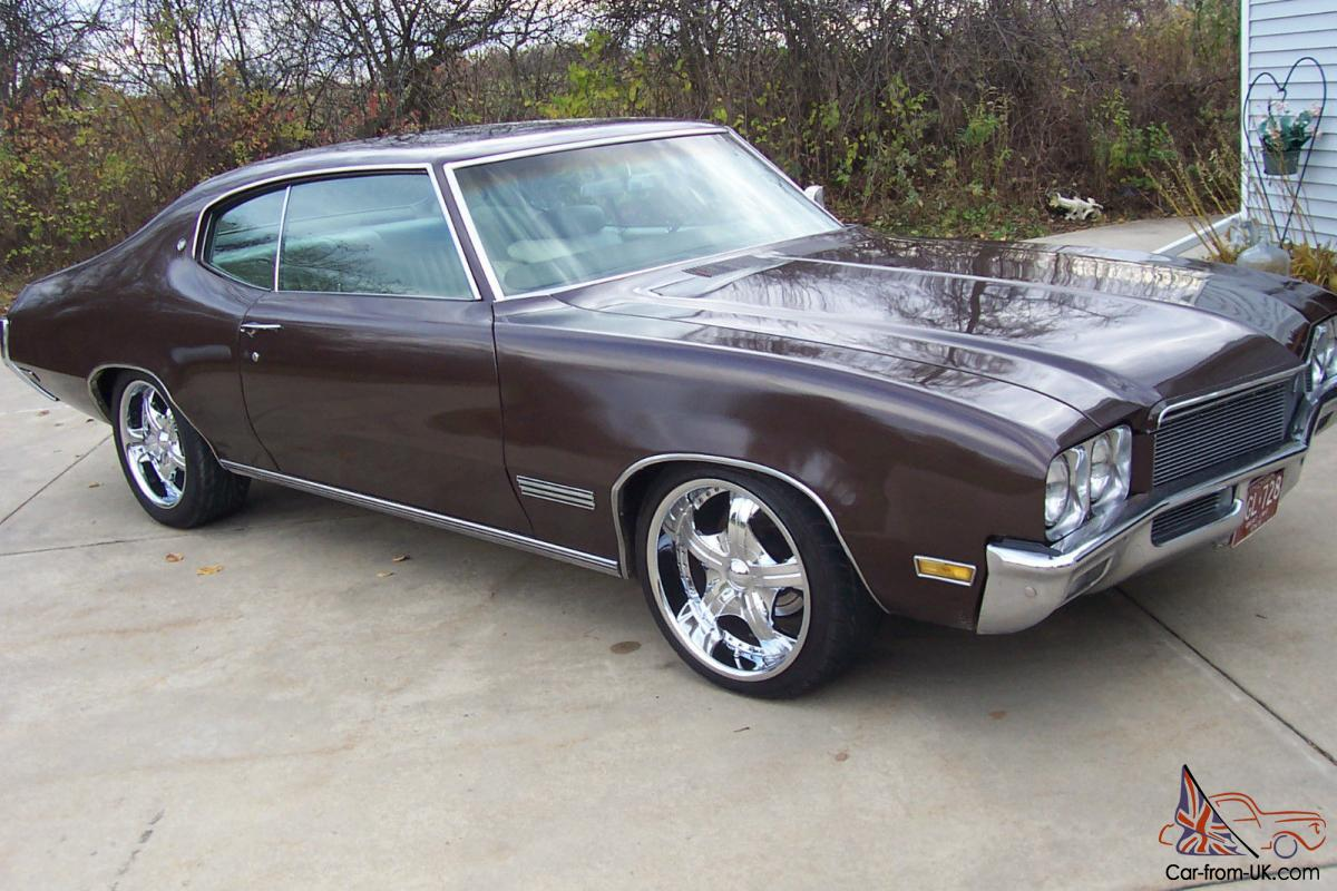 1971 Buick Skylark Custom Hardtop 2 Door 5 7l Photo