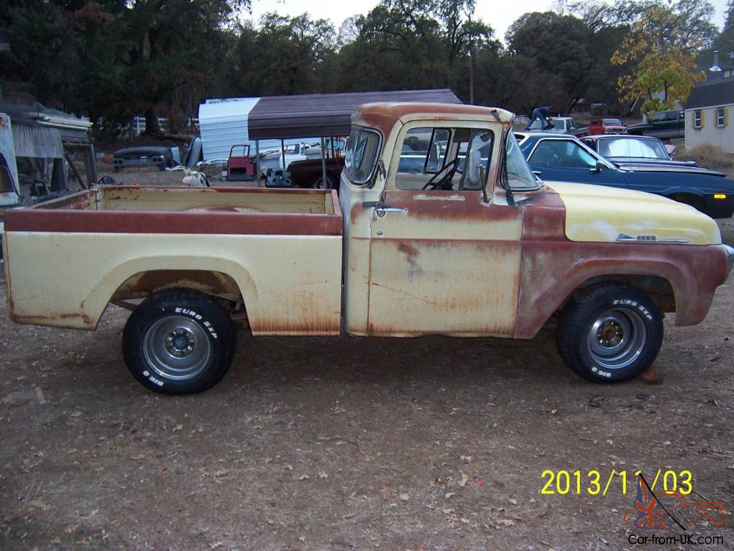 1957 Ford Truck For Sale 1957 FORD F100 TRUCK for sale