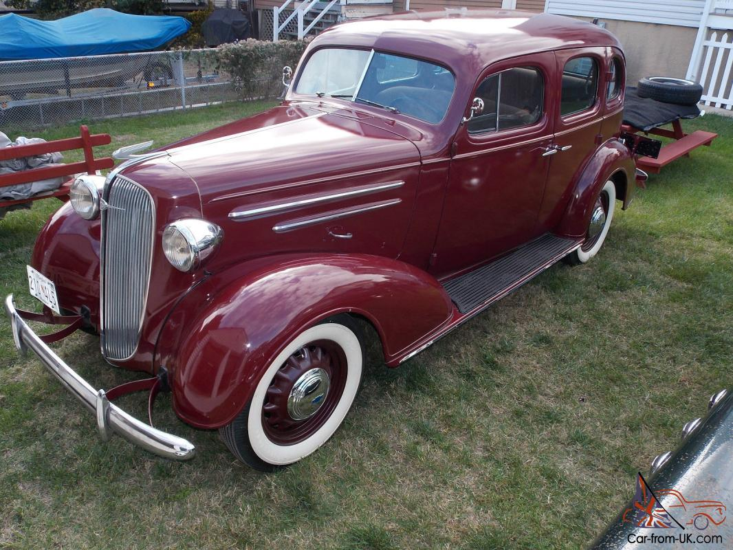 beautiful 1936 chevrolet master deluxe 4 door sedan older