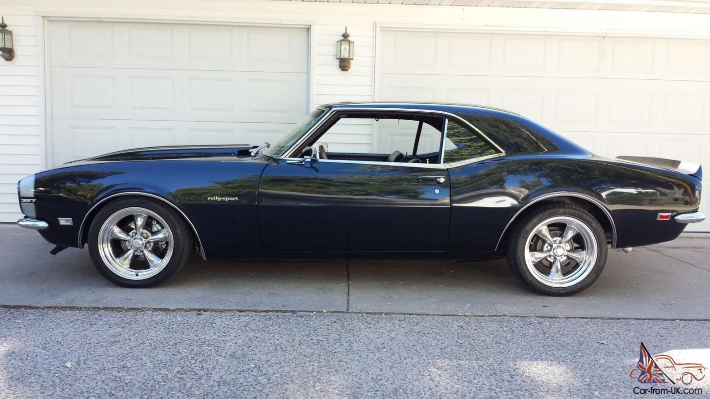 1968 Chevy Camaro Real Rs 327 4 Speed Resto Mod With Original Parts