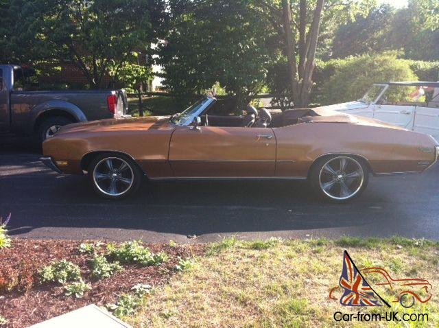 1970 Buick Skylark Custom Convertible 2 Door 5 7l Photo