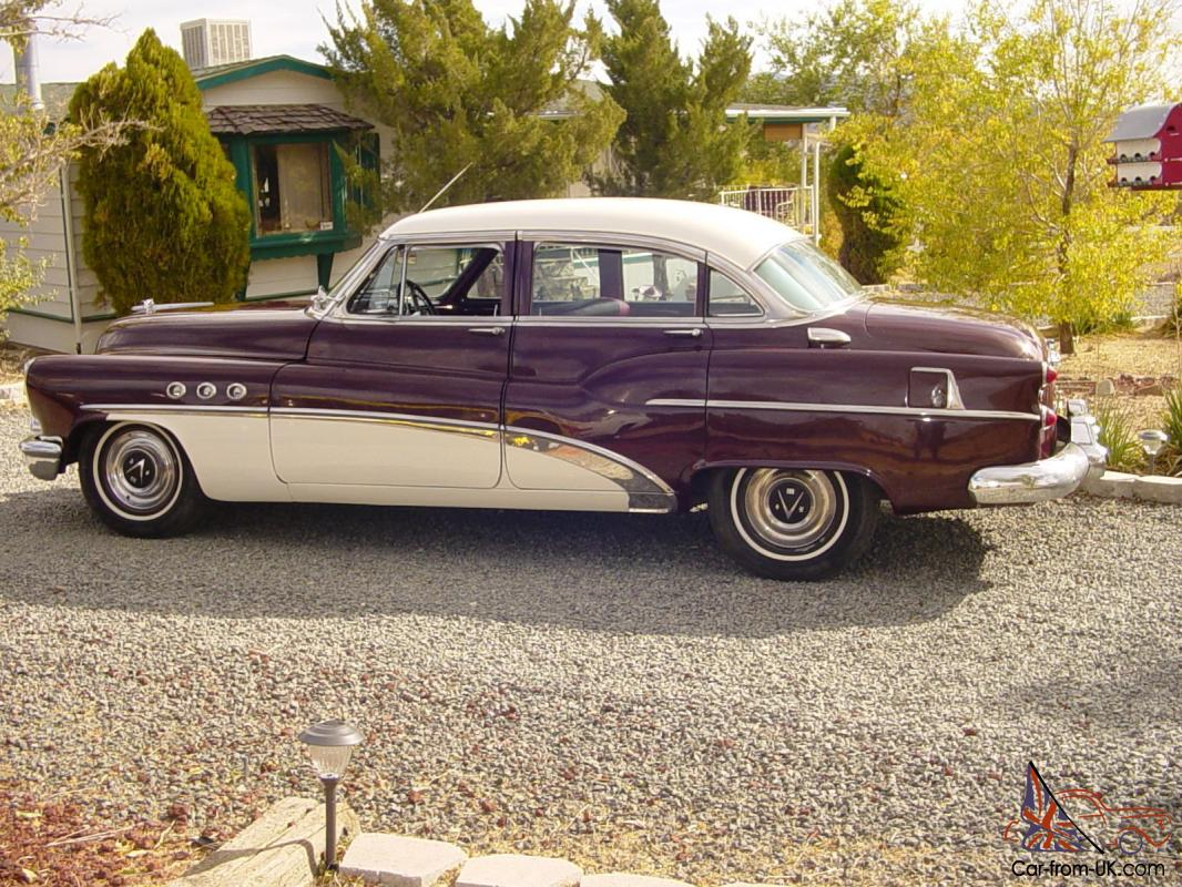 1953 Buick Super Riviera model 52 for sale: photos ... |1953 Buick Super Battery