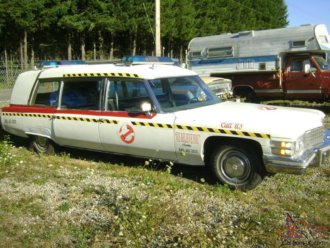 Ghostbusters Car For Sale On Ebay