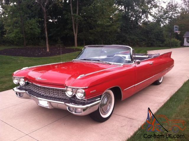 1960 cadillac series 62 convertible stunning example of automotive history. Black Bedroom Furniture Sets. Home Design Ideas