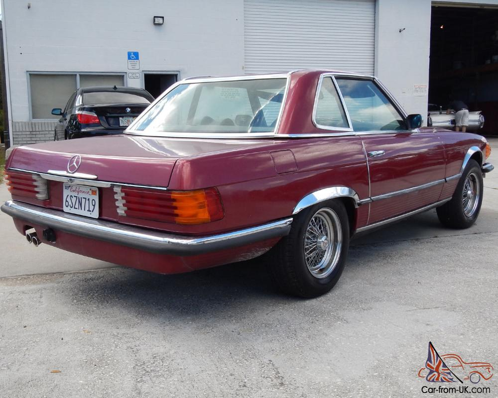 1973 Mercedes Benz 450sl Hard Top Convertible No Reserve
