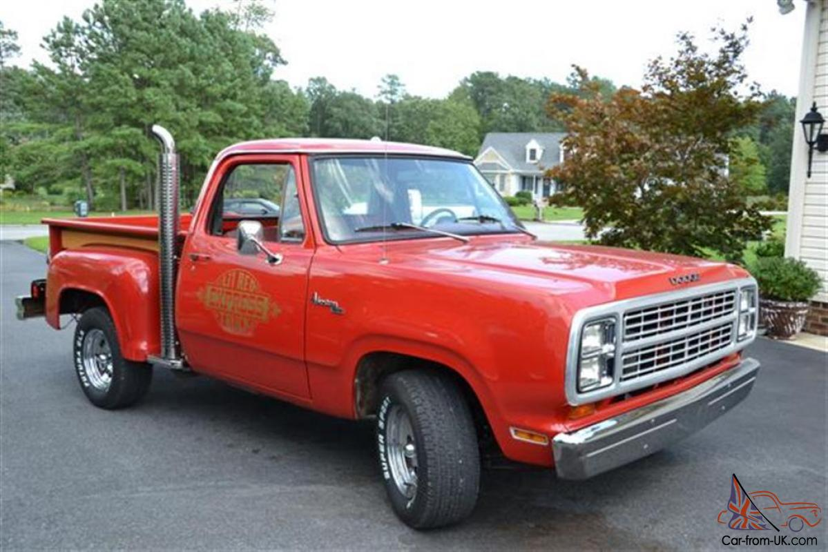 1979 dodge lil red express. Cars Review. Best American Auto & Cars Review