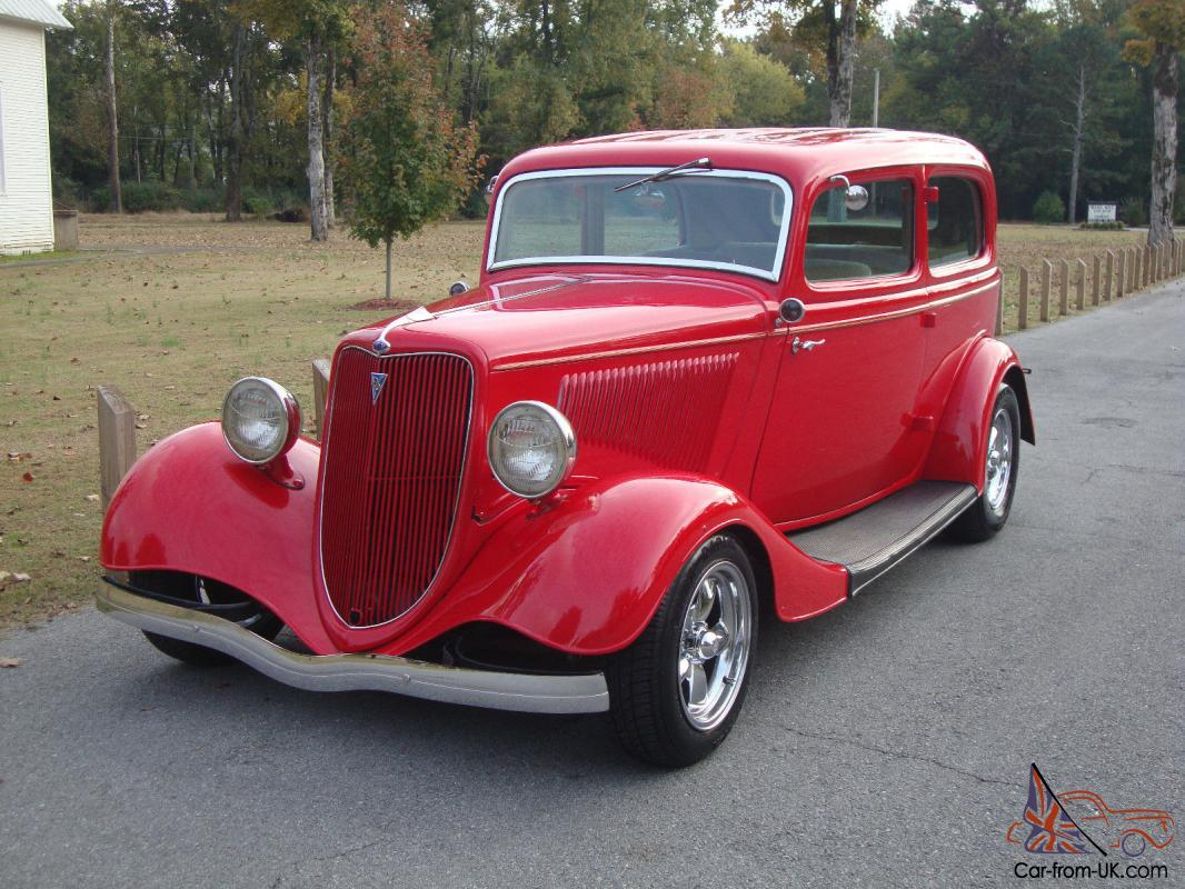 1934 ford 2 door sedan street rod steel