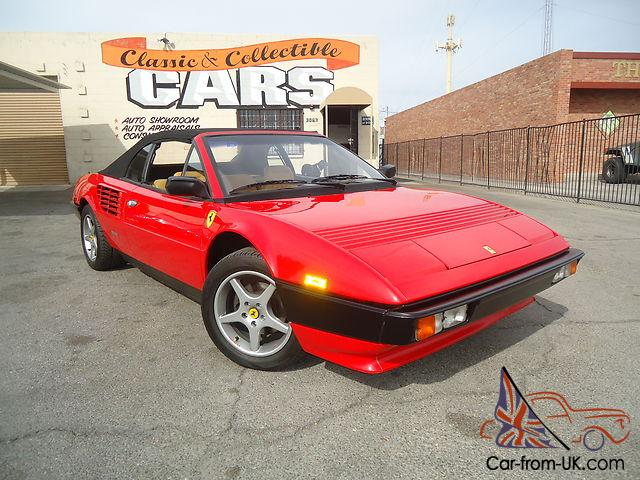 1985 ferrari mondial cabriolet in las vegas 39k original miles. Black Bedroom Furniture Sets. Home Design Ideas