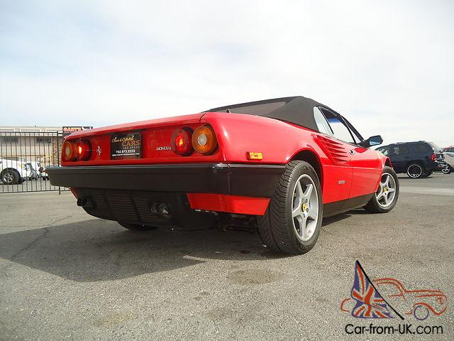 ferrari mondial original price 1992 ferrari mondial t only 11 602 original miles factory. Black Bedroom Furniture Sets. Home Design Ideas