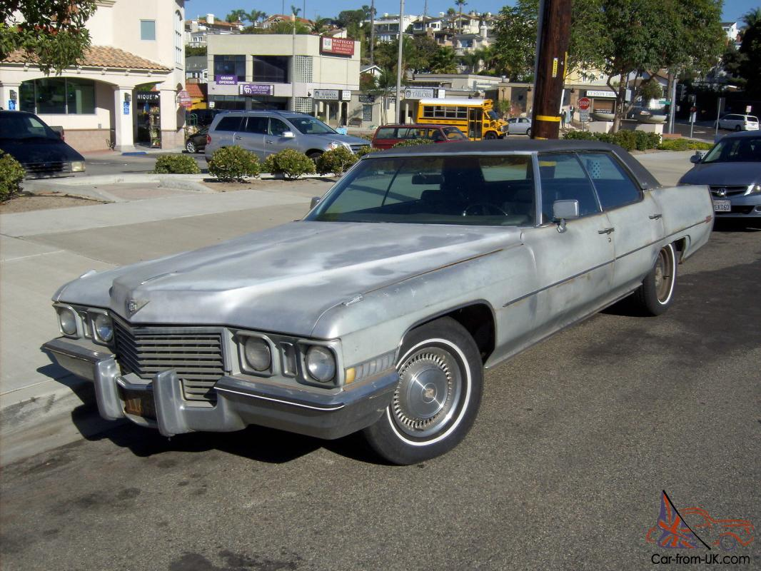 1972 cadillac sedan deville second owner. Cars Review. Best American Auto & Cars Review