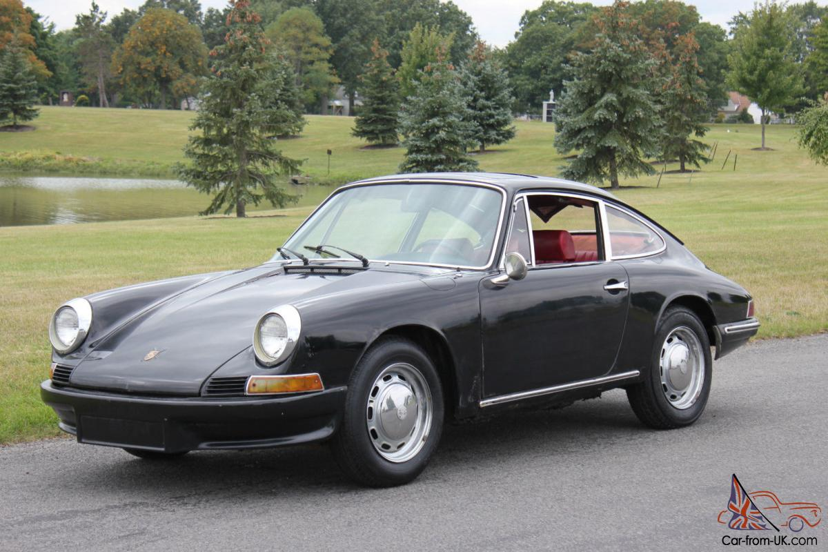 1968 porsche 912 sunroof coupe no reserve. Black Bedroom Furniture Sets. Home Design Ideas