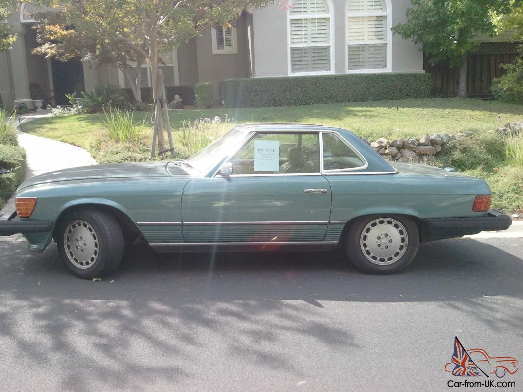 Green 1974 450sl Mercedes Benz Great Condition It Has