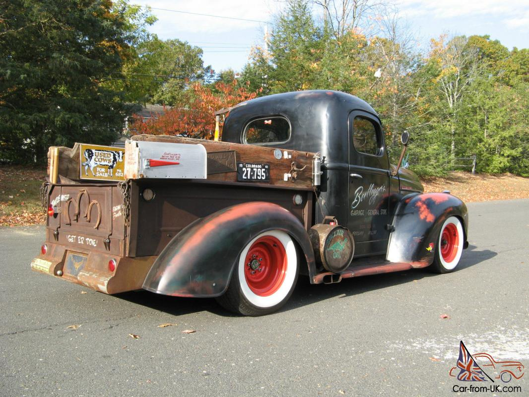 Custom Built Rat Rod Pick Up