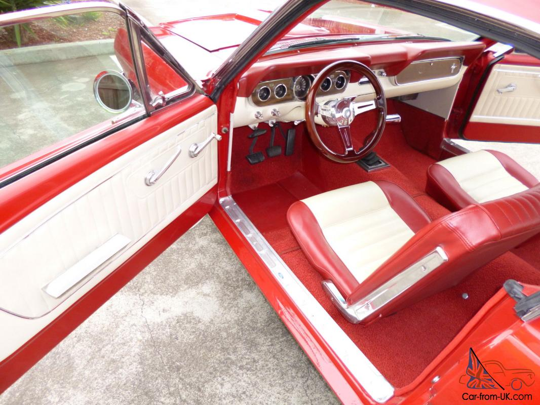 1966 Ford Mustang Fastback 4speed P Steering Disc Brakes Pony Interior