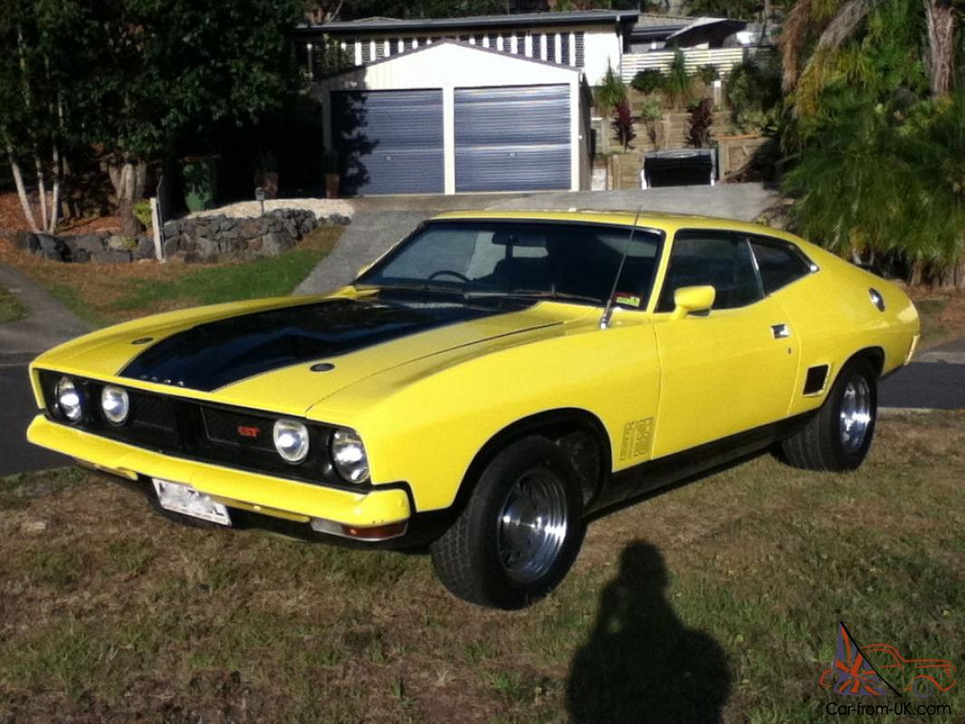 1974 ford falcon xb 6 cyl coupe gt replica xa gs xw xy hardtop cobra in