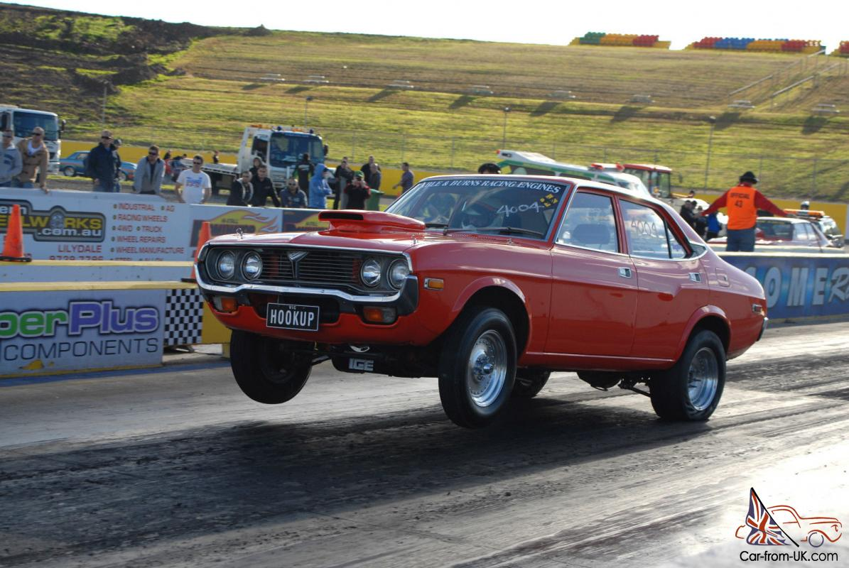 Mazda Rx4 Drag Car Race Chev Nitrous Photo
