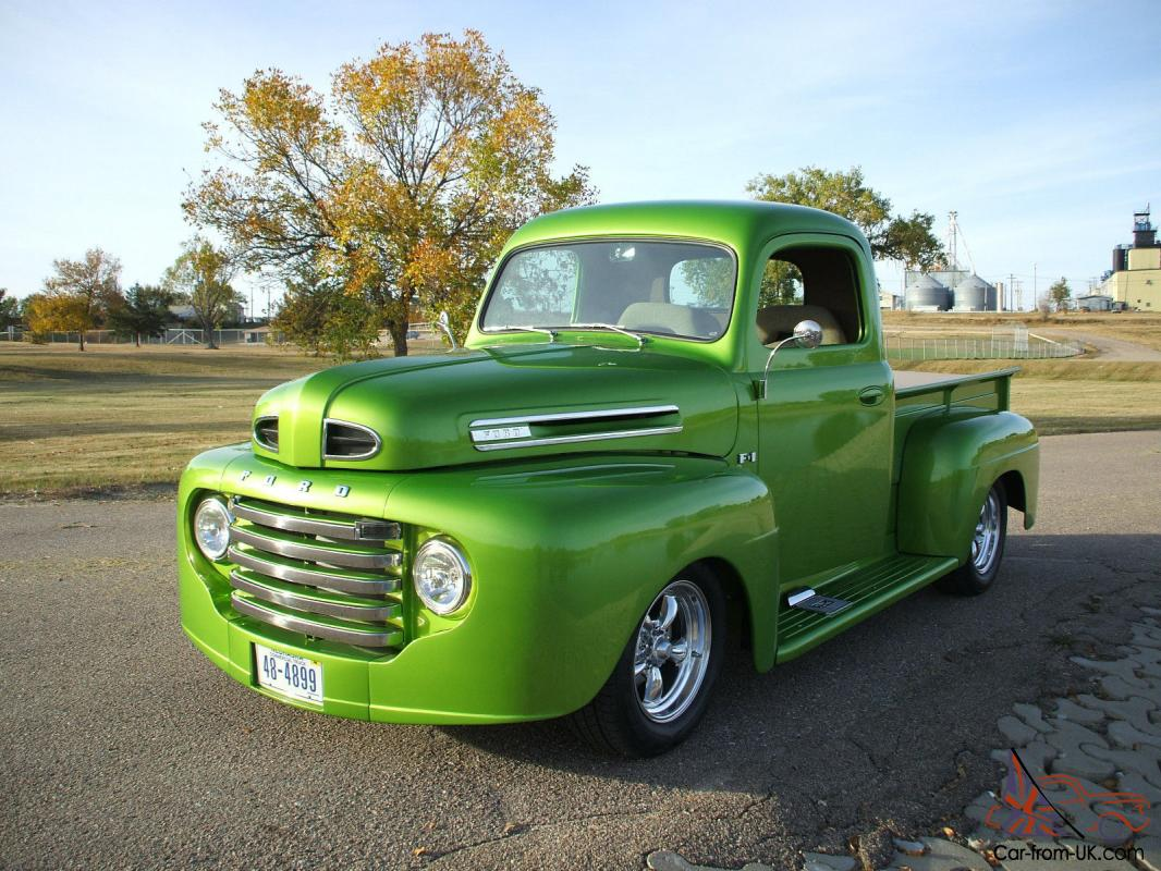 1948 ford f1 hot rod custom pickup collector car