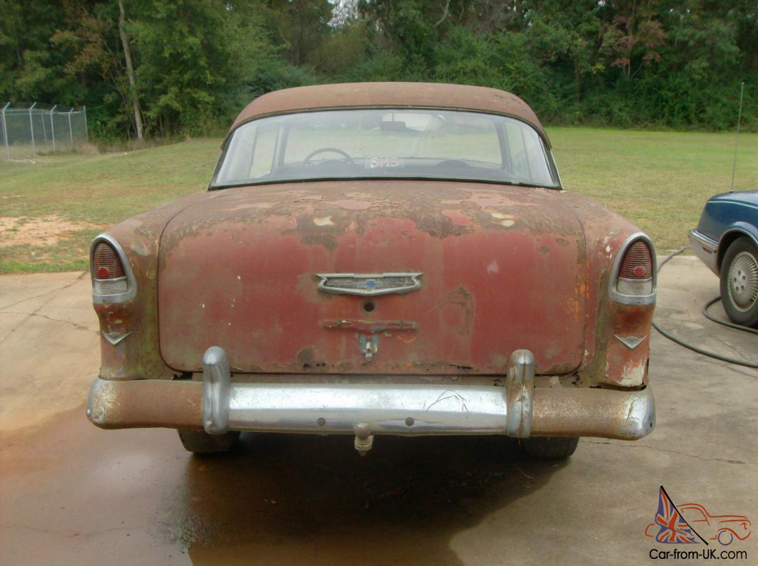 1955 dodge royal barn find for sale - 1955 Chevy Bel Air 2 Door Hard Top Sport Coupe Barn Find