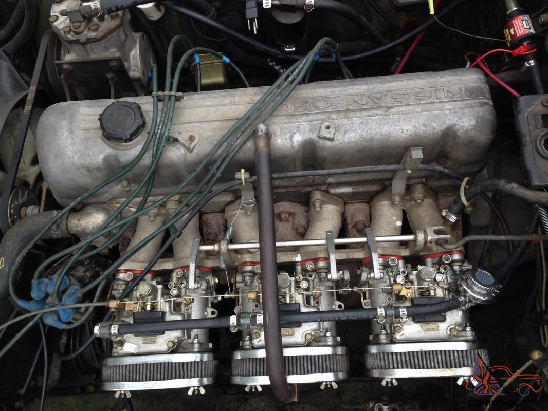 1972 Datsun 240z Triple Carburated 6 Cylinder 280z