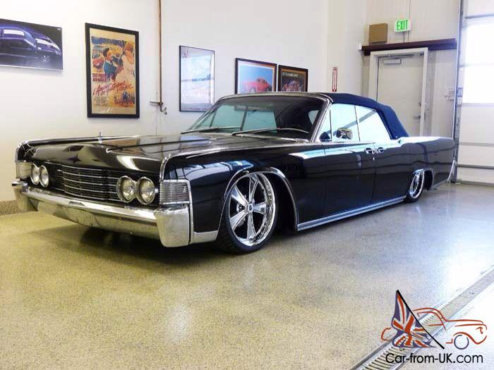 Restored Custom Lincoln Continental Air Ride Custom Stereo 20 Wheels