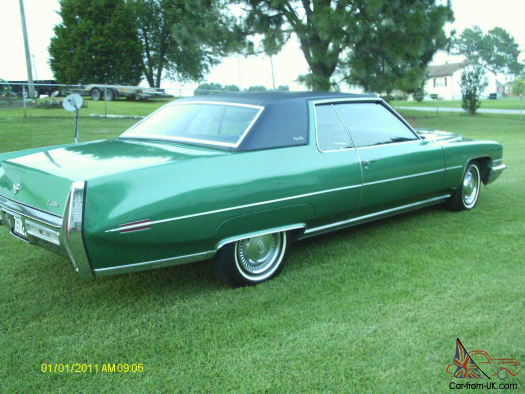 1972 coupe deville cadillac. Cars Review. Best American Auto & Cars Review