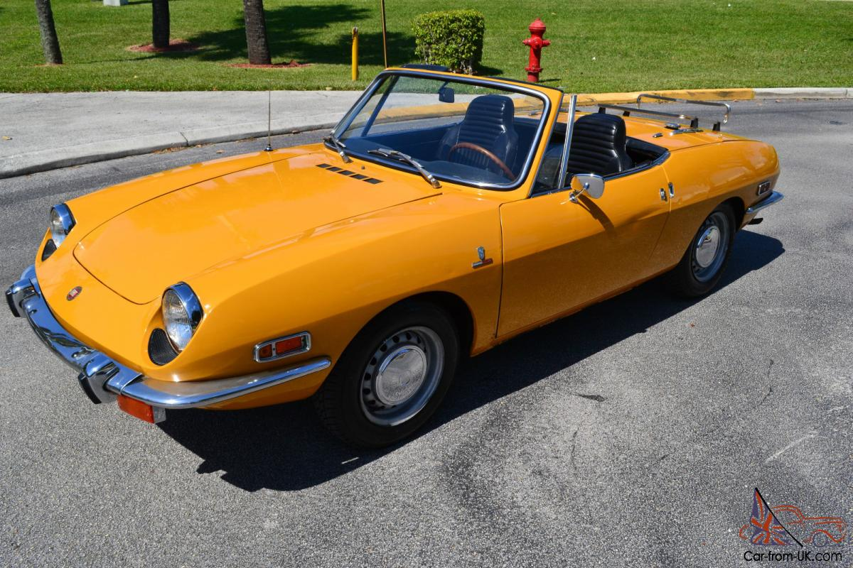1970 fiat 850 sport spider original collector quality car - Fiat 850 sport coupe for sale ...