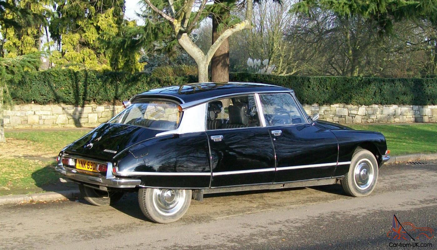 1974 citroen ds 23 pallas auto black. Black Bedroom Furniture Sets. Home Design Ideas