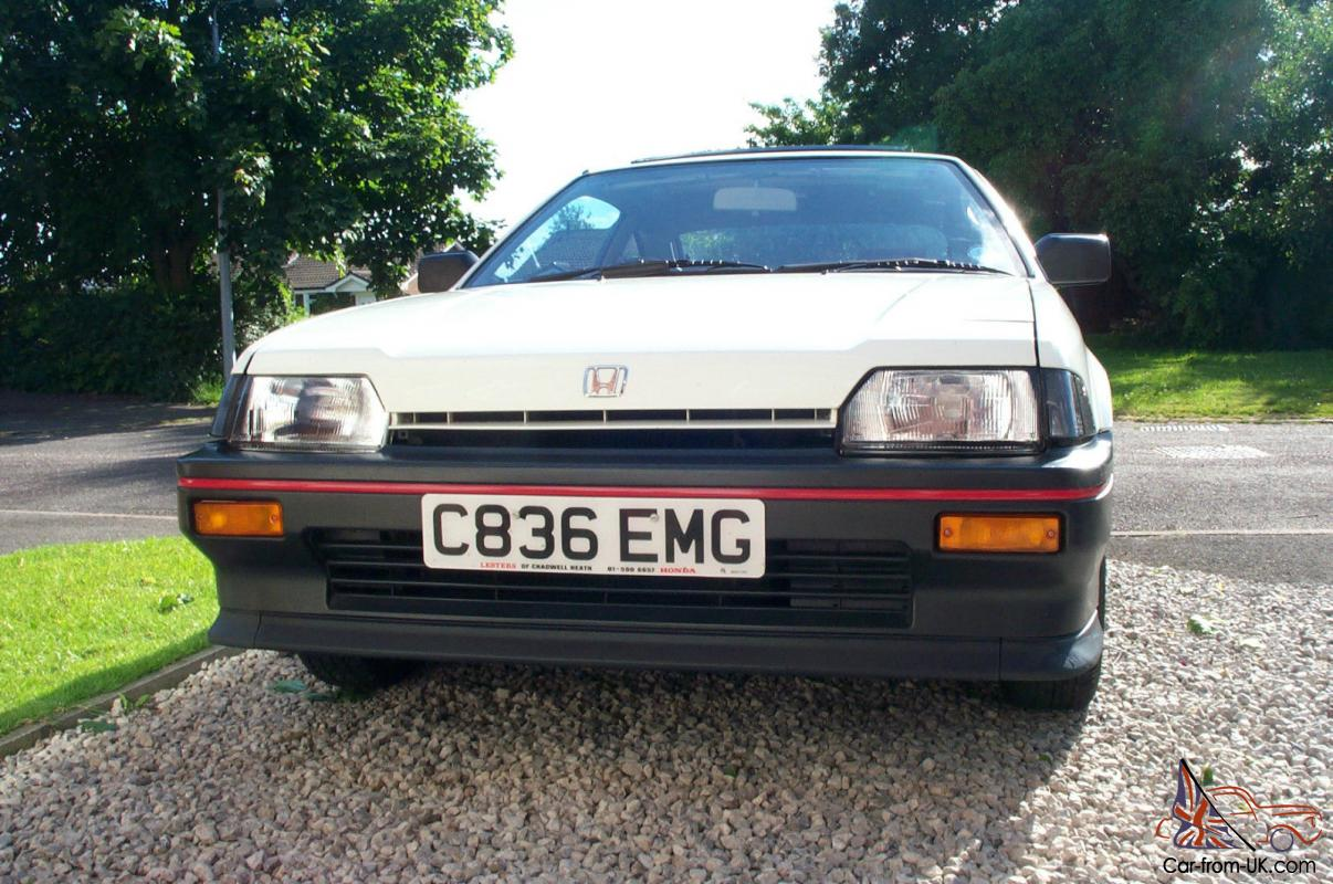 1985 honda civic crx mk1 classic 1 gen only 30k miles. Black Bedroom Furniture Sets. Home Design Ideas