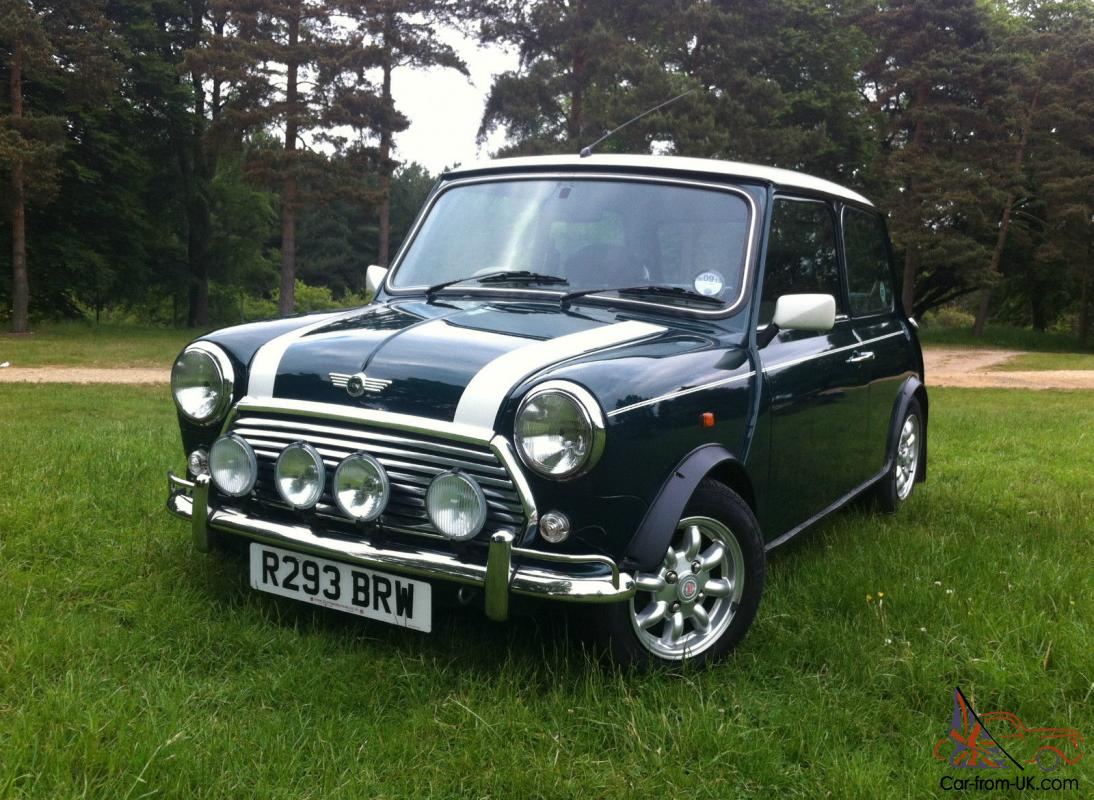 1997 rover mini cooper classic 1275cc 19 390 miles from new. Black Bedroom Furniture Sets. Home Design Ideas