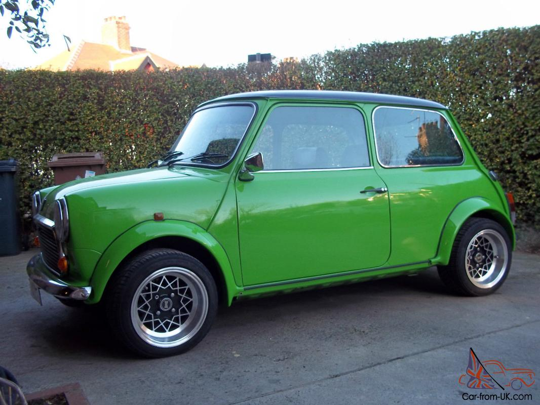 1987 austin mini micra engined mayfair green. Black Bedroom Furniture Sets. Home Design Ideas