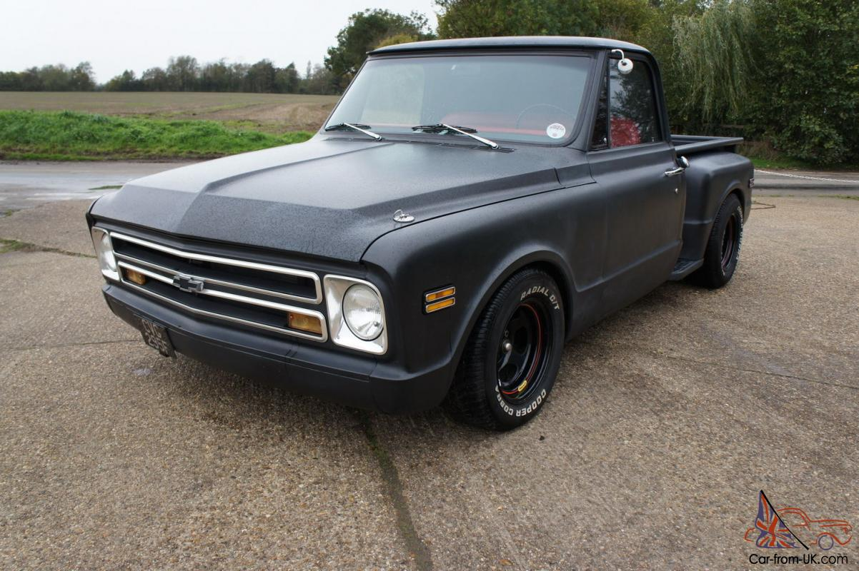1968 Chevy C10 Pick Up Truck 454 700r4 4 Speed Auto Lowered Rebuilt 4x4 Conversion