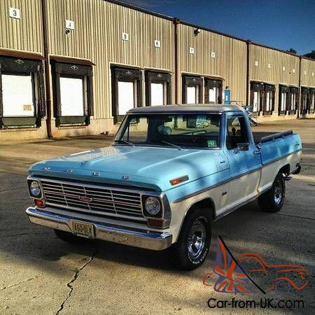 1969 ford f100 custom cab pickup short bed. Black Bedroom Furniture Sets. Home Design Ideas