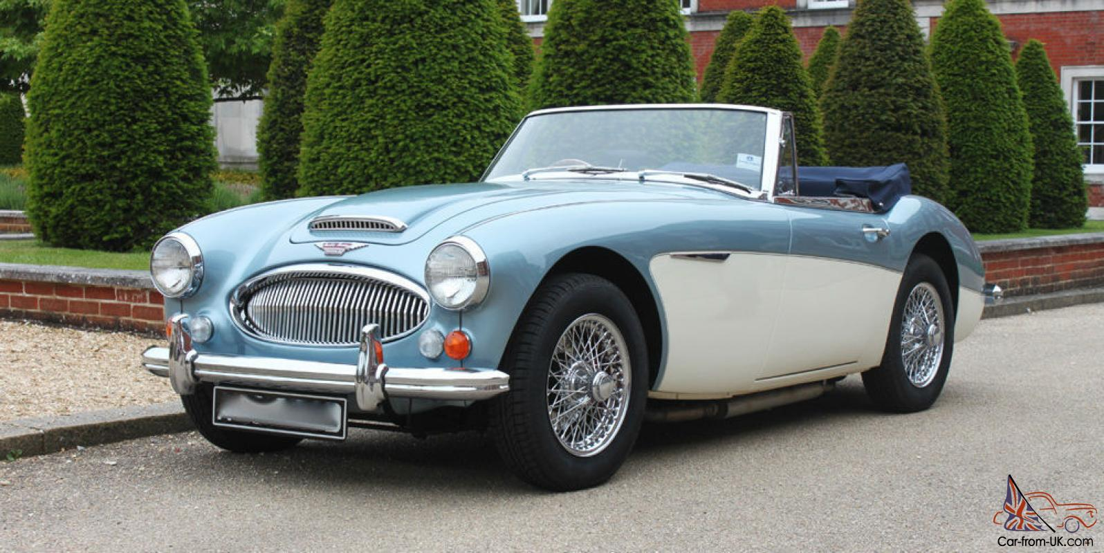 austin healey 3000 mk3 bj8 rhd ice blue white. Black Bedroom Furniture Sets. Home Design Ideas